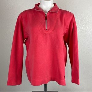 Tommy Bahama Ladies 1/4 Zip Pullover Sweater Sz XL